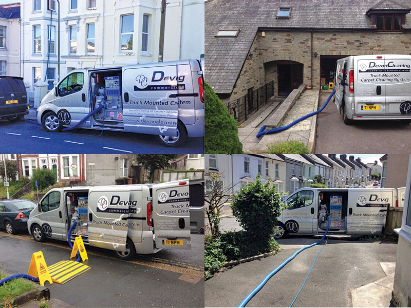 Truck Mounted Carpet Cleaning System In Plymouth